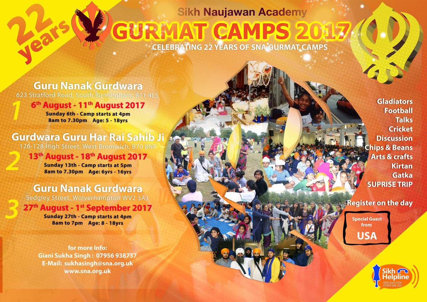SNA Gurmat Camp 2017