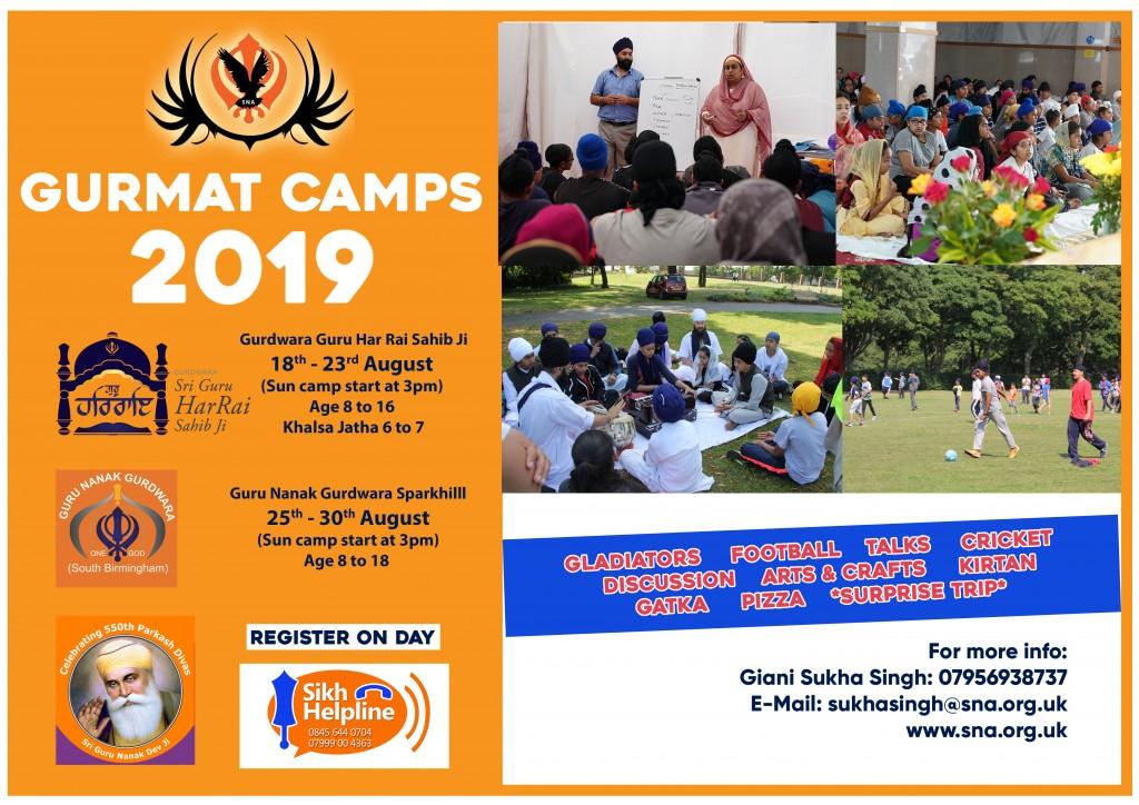 SNA Gurmat Camp 2019